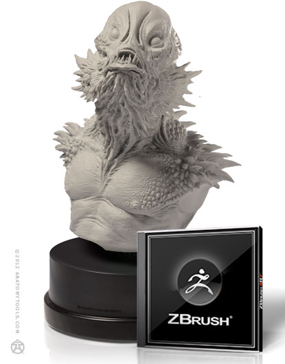 Gill Man and ZBrush Bundle