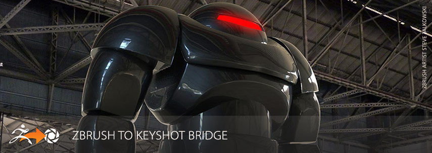 ZBrush to Keyshot Bridge