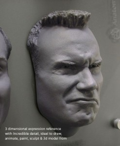 Male Expression Sheet and ZBrush Bundle (Non-removbale)