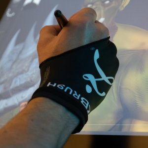 Z-Glove for Digital Drawing